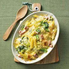 Savoy and ham casserole, Penne, Pasta, Tortellini, Avocado Dessert, Best Dishes, Main Dishes, Avocado Toast, Rice Recipes, Vegetarian Recipes