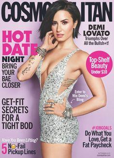 Demi Lovato covers Cosmopolitan