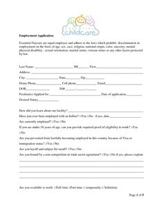 Preschool Application  Registration Form  Registration Form Pre
