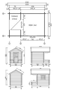 a plan for building your own playhouse - Plans For Outdoor Playhouses