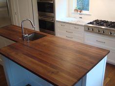 Black Walnut Countertop (integrated Sink Drain)