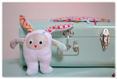 Made in Velanne: Doudou lapin #DDM5