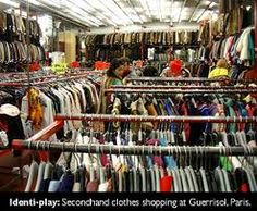 Secondhand clothes shopping in Paris <3