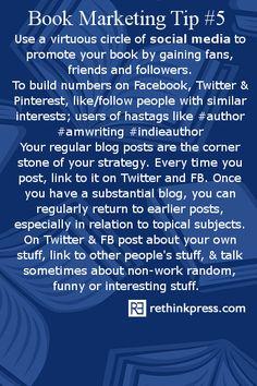 Book Marketing #5 Social Media