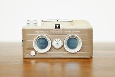 ViewMaster Personal Stereo Camera  Tan by redleafstudios on Etsy, $425.00
