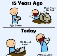 We love social media, yet we cherish handwritten letters. Tweets and Facebook posts are fleeting, but personal letters last forever. via @Christine Alexander