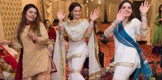 Aiman Khan and Minal Khan Dance Pictures