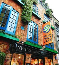Wild Food Cafè, Covent Garden - vegan and vegetarian food (l)