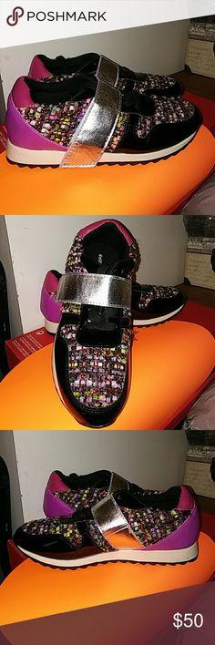 Dollhouse velcro strap sneaker New Dollhouse Shoes Sneakers