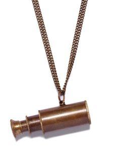 Vintage Telescope Necklace