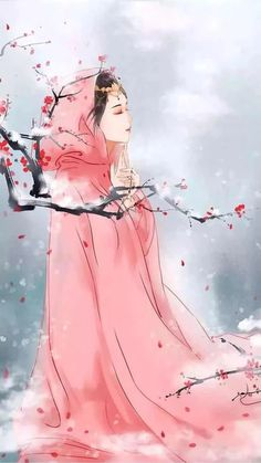 Anime Art Girl, Manga Art, Et Wallpaper, Geisha Art, Geisha Anime, Chinese Drawings, Art Asiatique, Fox Art, China Art