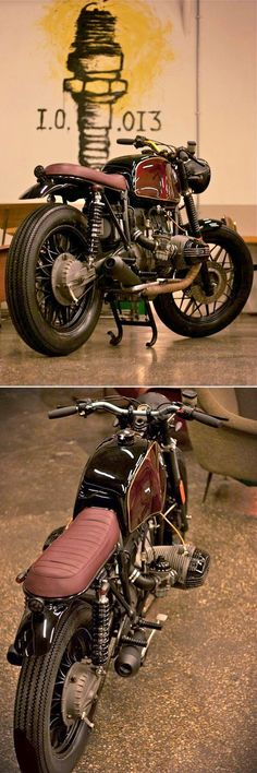 BMW R100 'Parsifal' - CAFE TWIN - INAZUMA CAFE RACER http://www.inazumacafe.com/2014/11/parsifal.html #vintagemotorcycles