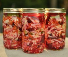 Fermented beet and kohlrabi kraut