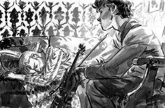 BBC Sherlock Johnlock Sherlock / John    A No-Patch Kind Of Day. by ~toerning on deviantART