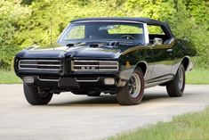 Triple-black GTO Judge to come up for auction at Mecum St. Charles ...