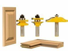 3 Bit Raised Panel Cabinet Door Router Bit Set - Ogee - Yonico 12335 - Amazon.com