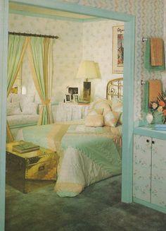 Vintage Goodness 1.0: Vintage 80's Home Decorating Trends