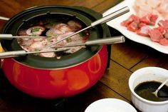 """We've done fondue many times this was the BEST ever! Don't use oil ever again. When it comes to """"meat"""" fondue there is no better recipe that this, in my opinion."""