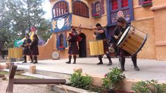 This pin shows how celtic music can be used as part of a celebration.  Celtic music is so widely known in some parts of the world that there are traveling fairs known as Renaissance fairs that celebrate the culture and music of that time period.  This includes Celtic music.  In this video, this band plays a new-age version of Celtic music for a crowd at a Renaissance Fair in the United States.  The band is a Celtic band known as Celtic Legacy.