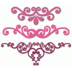 Silhouette Design Store: three flourishes