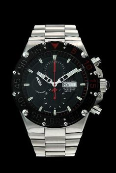 Android Men's Divemaster Enforcer 7750 Limited Edition Automatic Chronograph Bracelet Watch