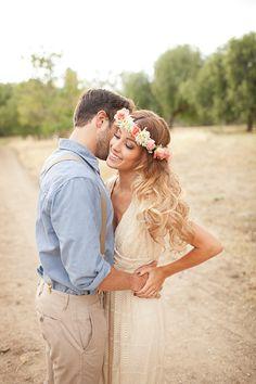 Bohemian wedding inspired by Janelle Marina Photography