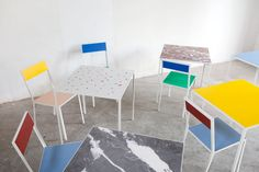 table S, 2013 + first chair, 2012 | Muller Van Severen