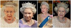 From Her Majesty's Jewel Vault: The Diamond Pear-Shaped Pendant Fringe Necklace