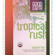 Ever been on a green tea getaway? #TropicalRush