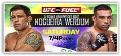 [Résultats] UFC on Fuel TV 10 : Nogueira vsWerdum