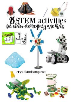 STEM Activities for Older Elementary Age Kids