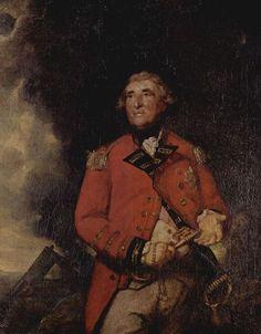 Sir Joshua Reynolds  Porträt des Lord Heathfield, Gouverneur von Gibraltar. 1787, Öl auf Leinwand, 142 × 113,5 cm. London, National Gallery. Großbritannien. Rokoko, Klassizismus.  KO 00759