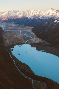 alecsgrg: Day break over the Southern Alps | ( by Jason Hill )