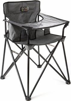 $24.99 outdoor high chair! Best idea ever -- or just an every day on the go high chair for visiting those childless friends or friends with older children.