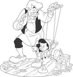 Disney 103 Printable Jigsaw to cut out 4 pieces. Online Coloring Pages, Disney Coloring Pages, Colouring Pages, Coloring Pages For Kids, Coloring Books, Disney Cartoon Characters, Disney Cartoons, Mural Da Disney, Disney Drawings