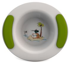 Ornamin 303 Children's Bowl 300 ml Treasure Island / Green * Click image for more details. #BarbecueandOutdoorDining