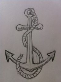 If you want to learn to draw a simple and easy anchor then you need to take a look at this drawing tutorial. It teaches you a step-by-step process to draw a simple anchor quickly. Find out more...
