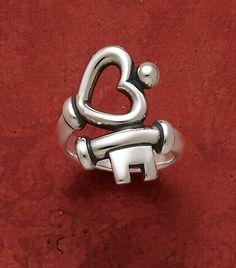 Key to My Heart Ring #JamesAvery #Heart #HeartRing