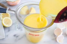 When I was a teenager, I was obsessed with tea parties. My sisters and friends and I would plan elaborate get-togethers and make scrumptious food to accompany tea. I loved stopping by the tea shop … Lemon Curd Recipe, Lemon Recipes, My Recipes, Cake Recipes, Dessert Recipes, Cooking Recipes, Desserts, Dinner Recipes, Healthy Smoothies