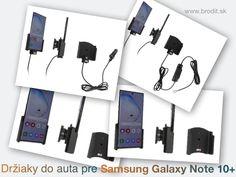 Nové držiaky do auta pre Samsung Galaxy Note 10+ N975. Pasívny držiak Brodit pre pevnú montáž v aute, aktívny s CL nabíjačkou, s USB alebo s Molex konektorom. Galaxy Note 10, Mercedes Benz, Samsung Galaxy, Usb, Notes, Report Cards, Notebook