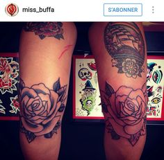 Knees tattoo, new obsession