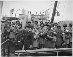August 15, 1944 - African American U.S. Army Nurses arrive in Greenock, Scotland From the US Army Center of Military History The Army Nurse Corps accepted only a small number of black nurses during World War II. When the war ended in September 1945 just 479 black nurses were serving in a corps of 50,000 because a quota system imposed by the segregated Army during the last two years of the war held down the number of black enrollments…. Army authorities argued that assignment.