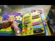 Cómo hacer un libro de tela para niños: información y consejos. - YouTube