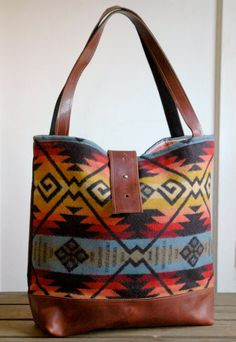 Ann Shoulder Bag in Beautiful Bold Colors Wool and by appetite, $104.00