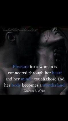 pleasure for a woman...