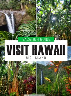 Ultimate Hawaii Big Island Vacation Guide - Resist the Mundane Cool Places To Visit, Places To Travel, Places To Go, Travel Destinations, Vacation Places, Vacations, Hawaii Travel, Travel Usa, Travel Tips
