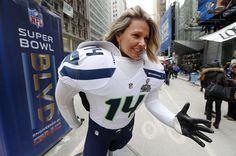 La locura del Super Bowl en Time Square - Yahoo Deportes México