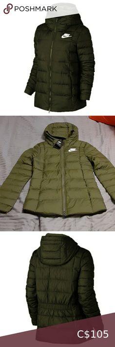 Nike Winter Jackets, Vintage Nike Jacket, Vintage Nike Windbreaker, Long Parka, Nike Tech Fleece, Fleece Joggers, Nike Sportswear, Nike Women, Fill