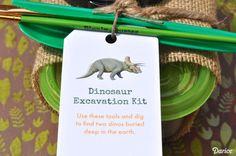 DIY Dino Dig Excavat