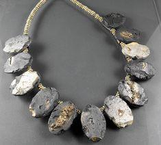 Faux Slate Necklace | by MargitB.